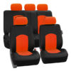 car seat covers PU008115 orange 01