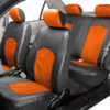 car seat covers PU008115 orange 05