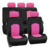 car seat covers PU008115 pink 01