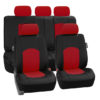 car seat covers PU008115 red 01