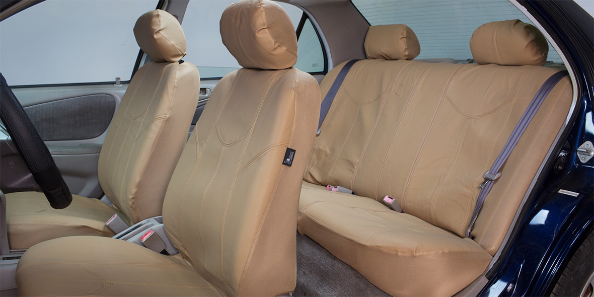 PU Leather Rome Seat Covers - Front banner