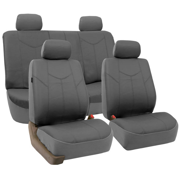 PU Leather Rome Seat Covers - Full Set