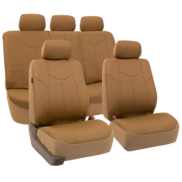 car seat covers PU009115 tan 01