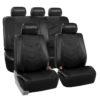 car seat covers PU021115 black 01