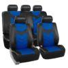 car seat covers PU021115 blue 01