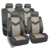 car seat covers PU021115 gray 01