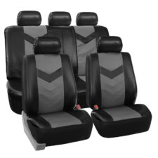 car seat covers PU021115 grayblack 01