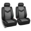 car seat covers PU021115 grayblack 02