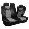 car seat covers PU021115 grayblack 03