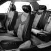 car seat covers PU021115 grayblack 04