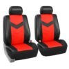 car seat covers PU021115 red 02