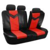 car seat covers PU021115 red 03