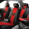 car seat covers PU021115 red 04