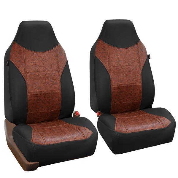 car seat covers PU160102 black 01