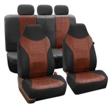 car seat covers PU160115 Black 01