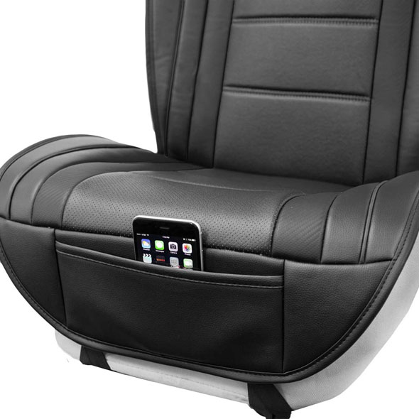 Futuristic Leather Seat Cushions material