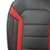 car seat cushions PU208102 red 05