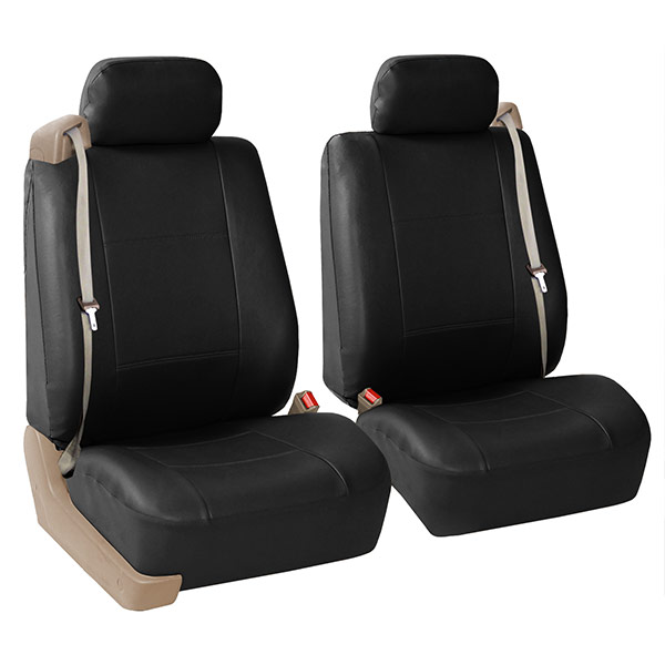 All-Purpose Built-in Seat Belt PU Leather Seat Covers