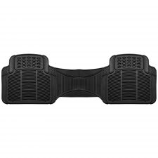 High Quality Vinyl Floor Mats - Rear Set black 3