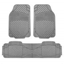 F11307 gray floor mats