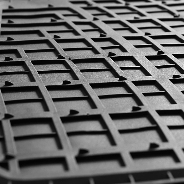 Premium Tall Channel Rubber Floor Mats material