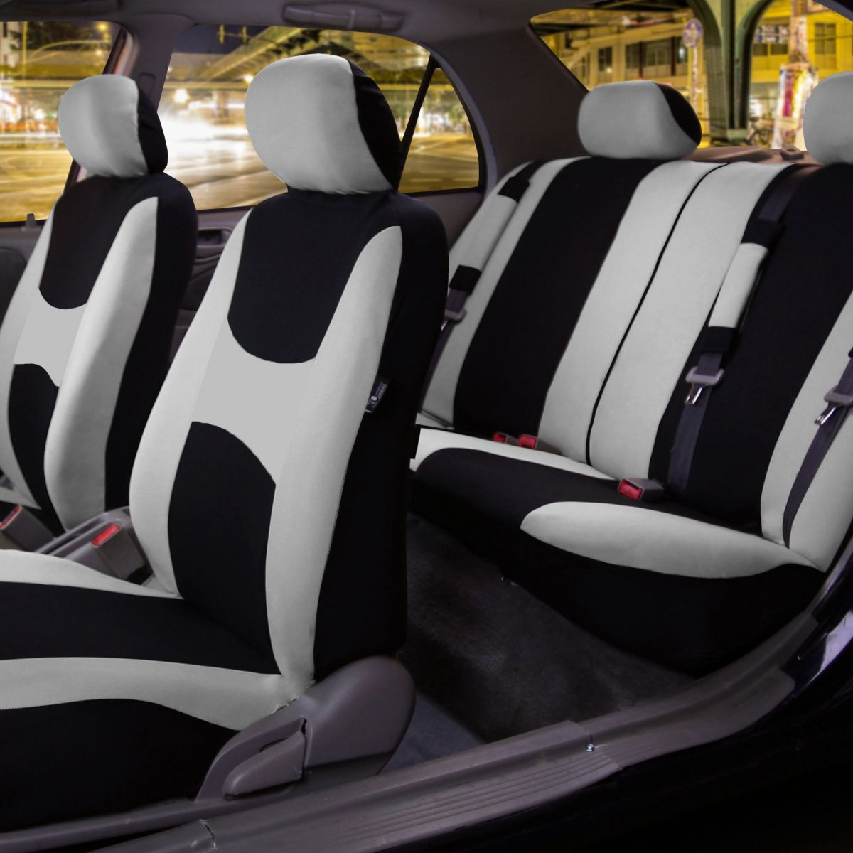 Light & Breezy™ Flat Cloth Seat Covers Combo Set