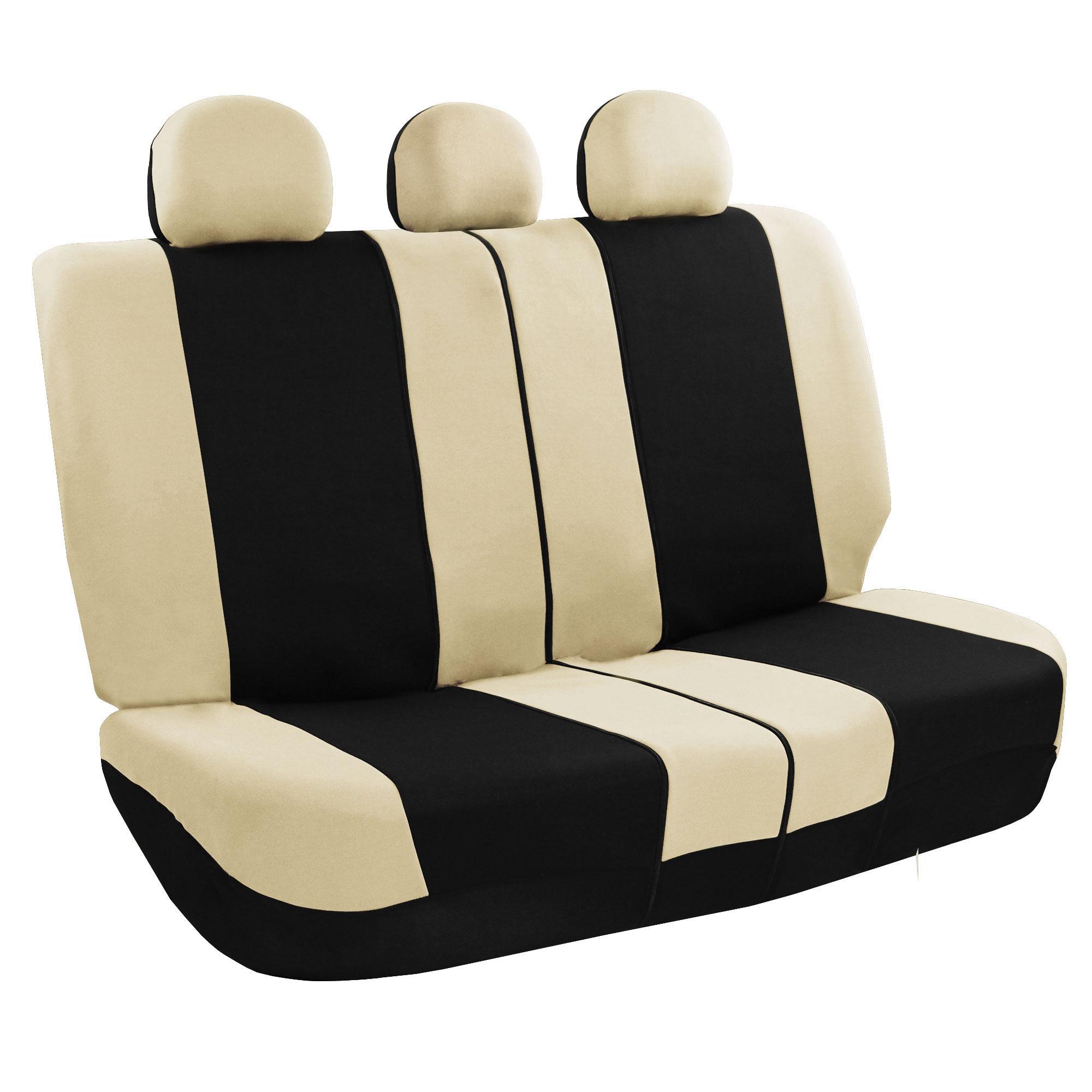 FB030beige rear seat covers