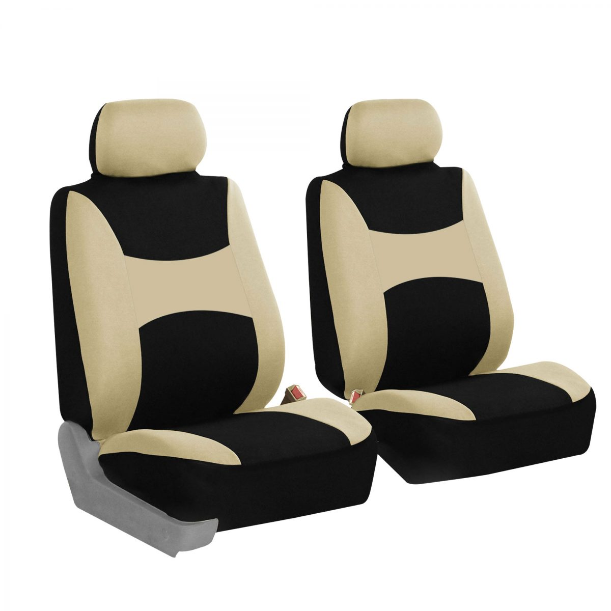 FB030 beige front seat covers