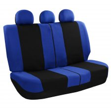 FB030 blue rear seat covers