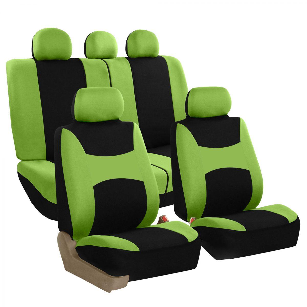 FB030 green full set seat covers