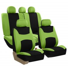 FB030 green full set seat covers