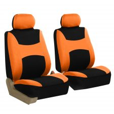 FB030 orange front seat covers