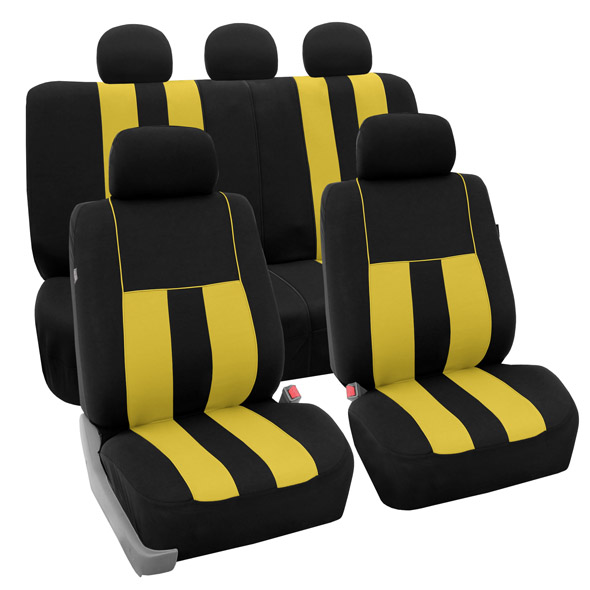 car seat covers FB036115 yellow 01