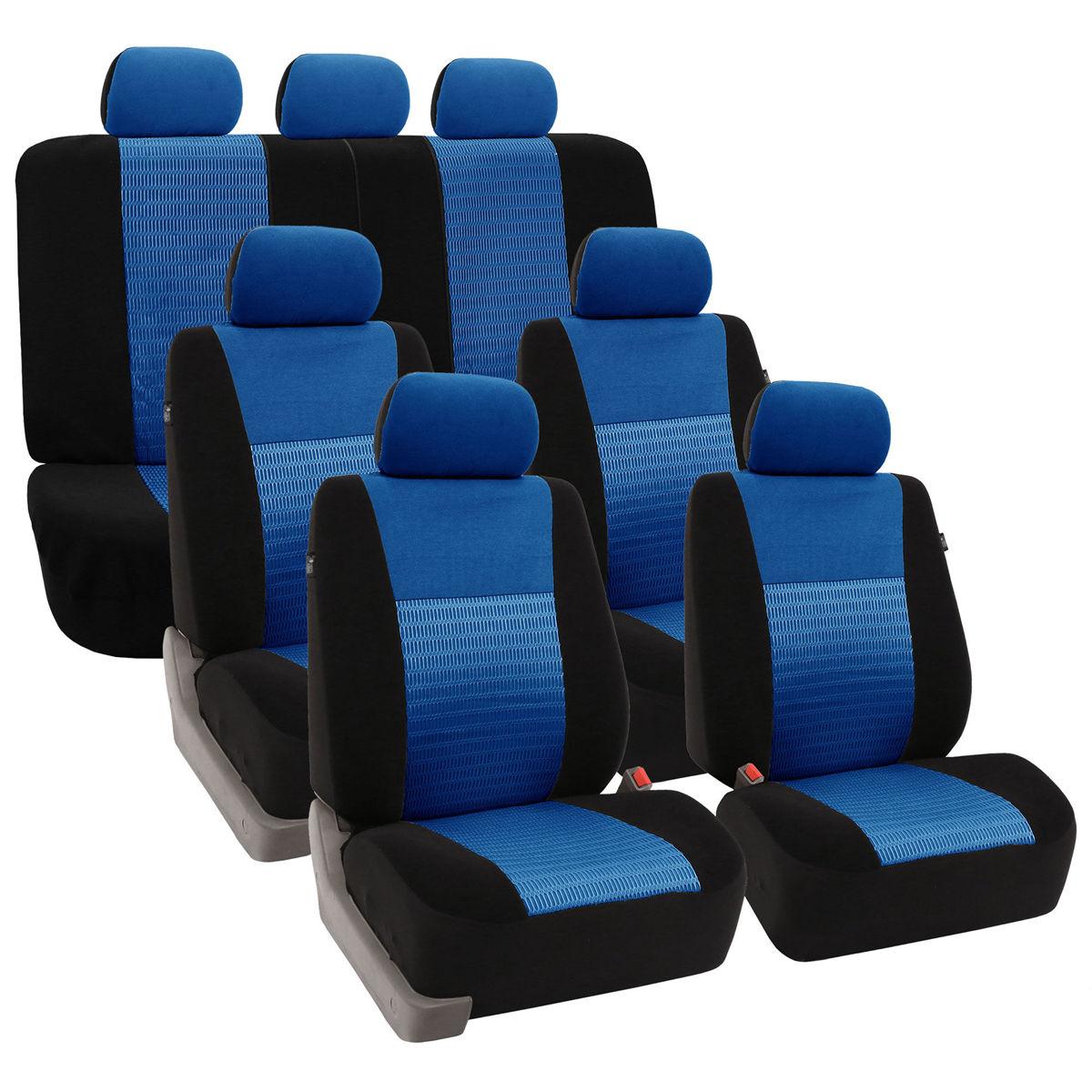 FB060217 blue car seat covers 01