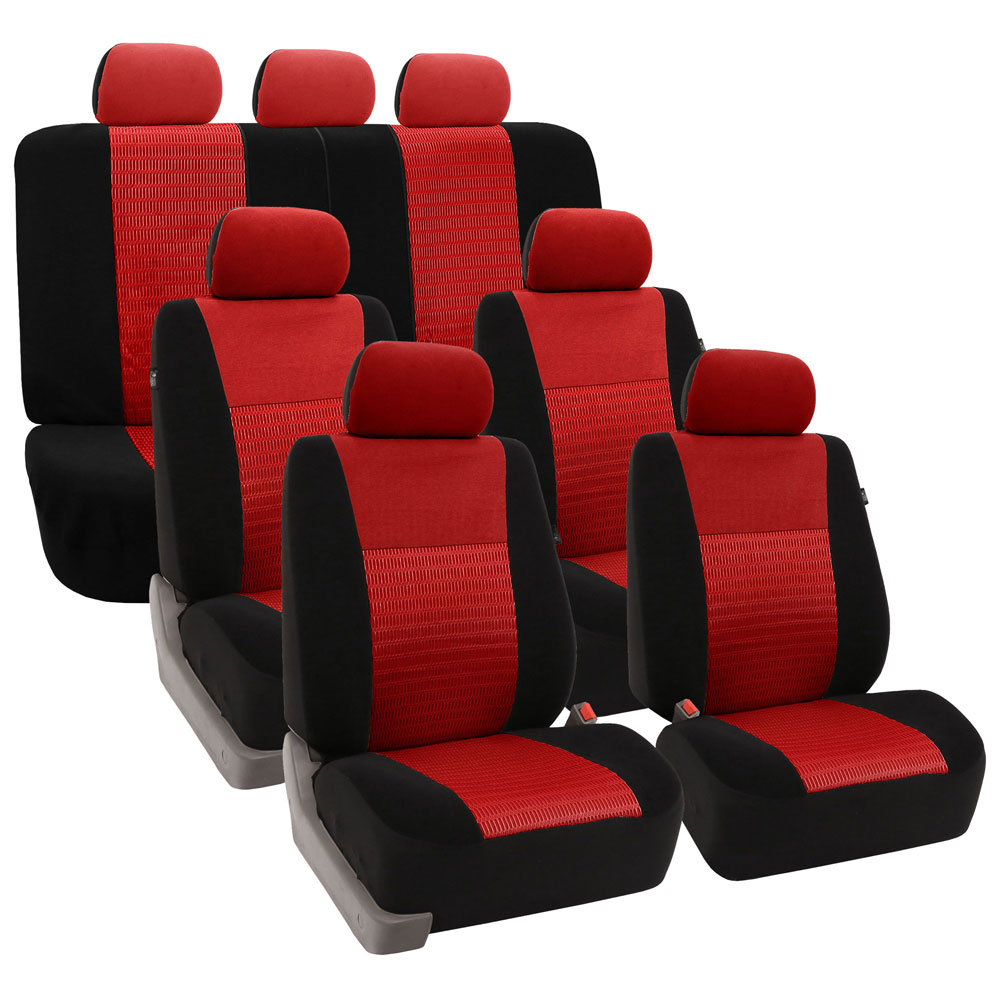 FB060217 car seat covers red 01