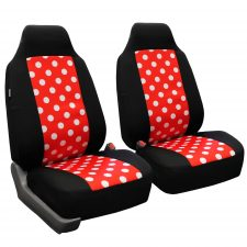 FB115 red black seat covers