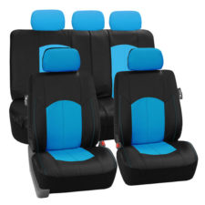 PU008115 blue seat cover