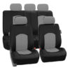 car seat covers PU008115GRAY 01