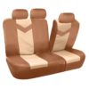 car seat covers PU021115 beige 03