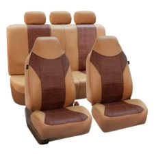 car seat covers PU160115 BROWNBEIGE 01