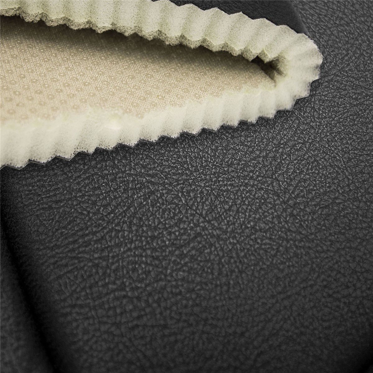 Ultra Comfort Leatherette Bench Seat Cushions-Rear material
