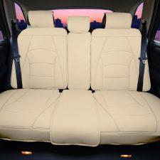 pu205 beige seat covers