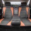 PU205blackbrown115-05 seat cover