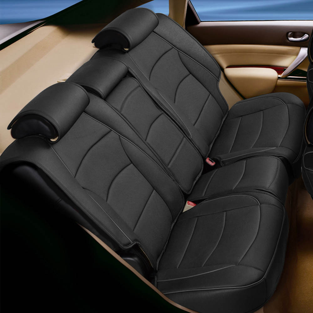 Seat Cushion PU205013 solid black 02