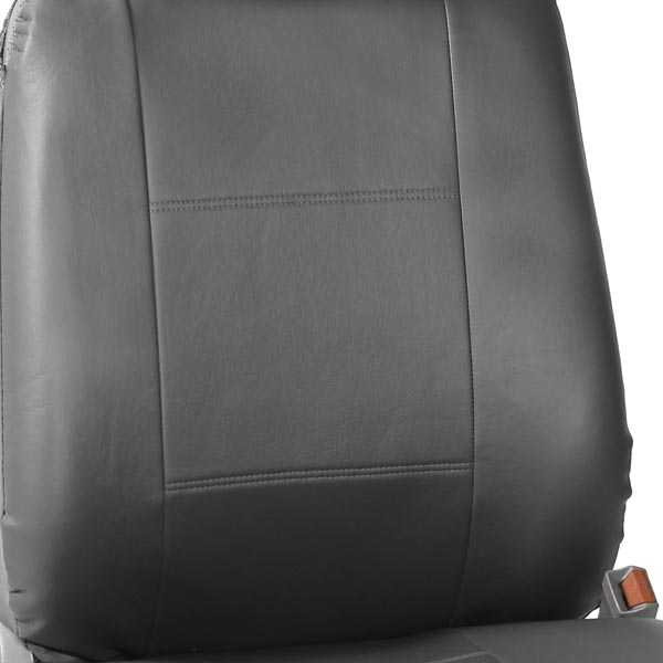 All-Purpose Built-in Seat Belt PU Leather Seat Covers - Front material