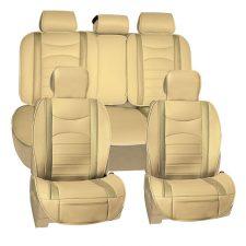 pu207115 beige seat cover