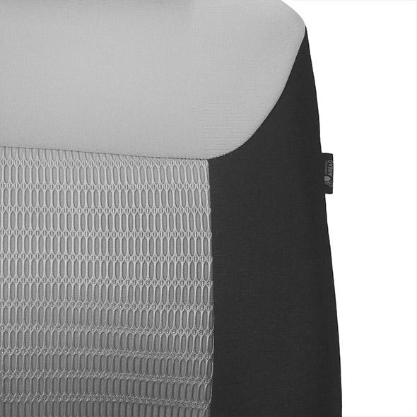 Premium Fabric Seat Covers - Full Set material