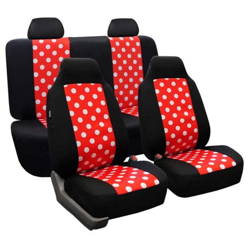 88-FB115114_2 tone polka dots seat cover 1