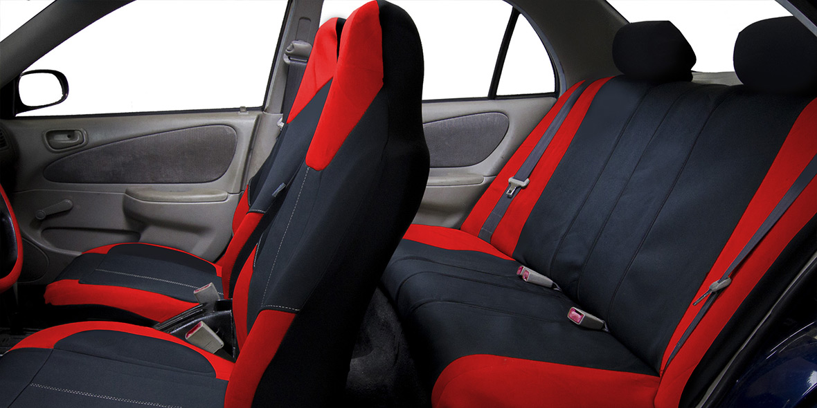 Neo-Modern Neoprene Seat Covers - Full Set banner