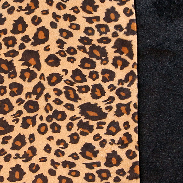 Trendy Leopard Seat Covers - Full Set material